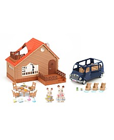 Calico Critters - Lakeside Lodge Gift Set
