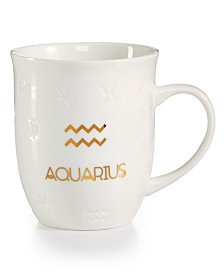Tri-Coastal Design Aquarius Zodiac Mug