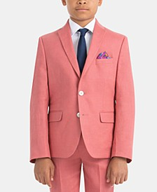 Big Boys Linen Sport Coat