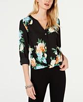 05c3b68092f Floral Blouse  Shop Floral Blouse - Macy s