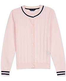 Tommy Hilfiger Little Girls Cotton Cardigan Sweater