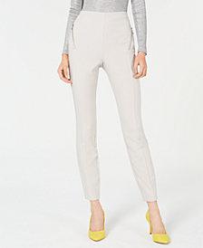 I.N.C. Petite Zip-Pocket Skinny Pants, Created for Macy's