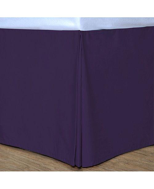 Epoch Hometex inc Cottonloft Colors Cotton Bed Skirt, Twin