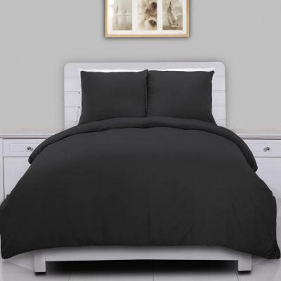 Water and Stain Resistant Microfiber Duvet Cover Mini Set