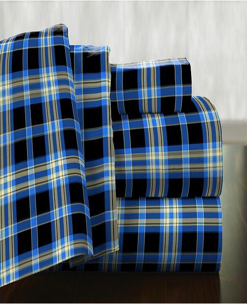 Pointehaven Superior Weight Cotton Flannel Sheet Set - California King