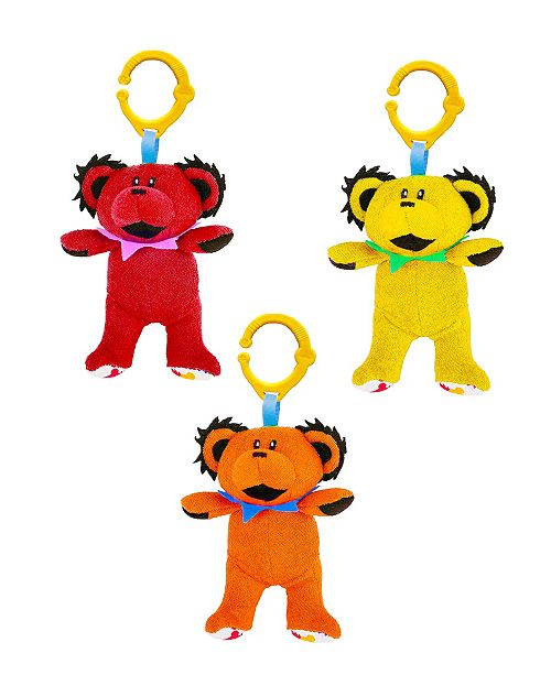3-Pack of Grateful Dead Multi Functional Dancing Bear Plush Toys by Daphyl's