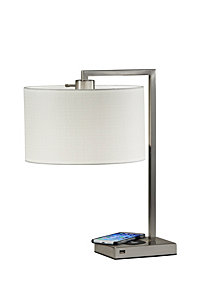 Adesso Austin Wireless Charging Table Lamp
