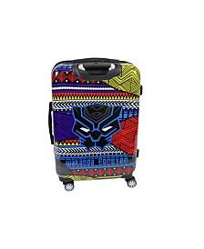 """FUL Marvel Black Panther Tribal Art 21"""" Hardside Spinner Suitcase"""