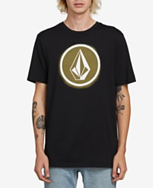 Volcom Men's Spray Stone Graphic T-Shirt