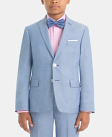 Lauren Ralph Lauren Big Boys Cotton Suit Jacket