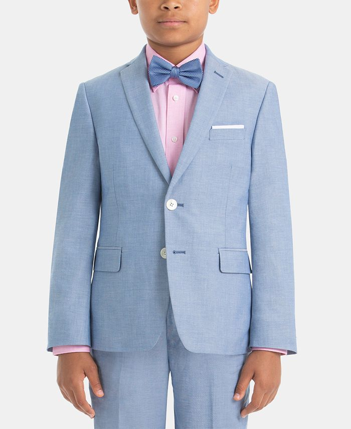 Lauren Ralph Lauren - Big Boys Cotton Suit Jacket