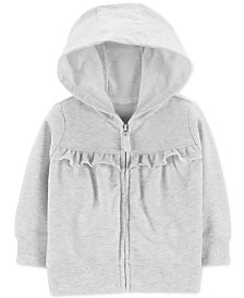 Carter's Baby Girls Cotton Hoodie