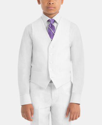 Big Boys Button-Front Vest