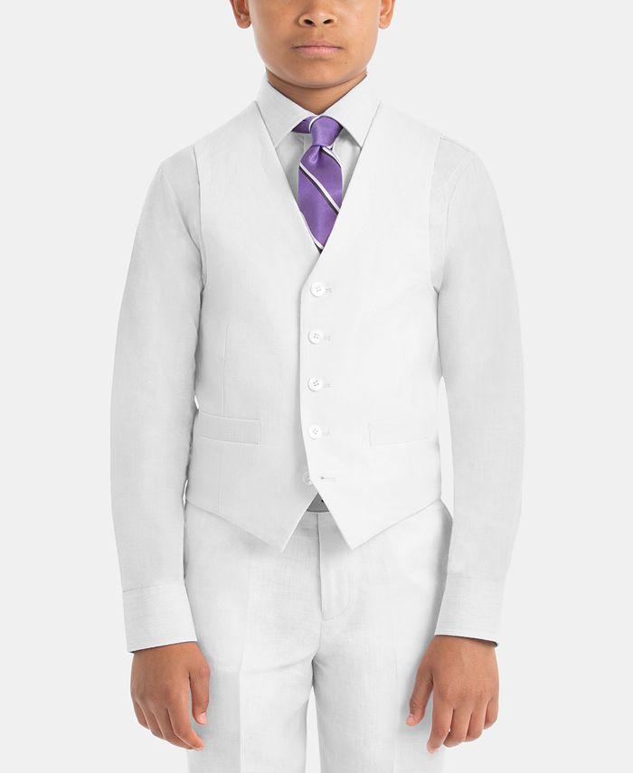 Lauren Ralph Lauren - Big Boys Windowpane Suit Jacket