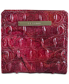Brahmin Jane Melbourne Embossed Leather Wallet