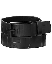 HUGO Men's Gildo Logo Leather Belt