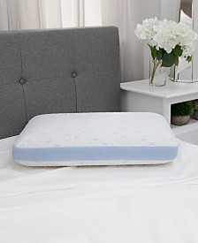 Sensorgel Arctic Gusset, Cold Touch Gusseted, and Cold Touch Contour Infused Memory Foam Pillow Collection