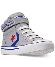 Converse Little Boys' CONS Pro-Blaze Leather High-Top Casual Sneakers from Finish Line
