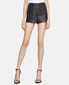 BCBGMAXAZRIA Faux-Leather Shorts