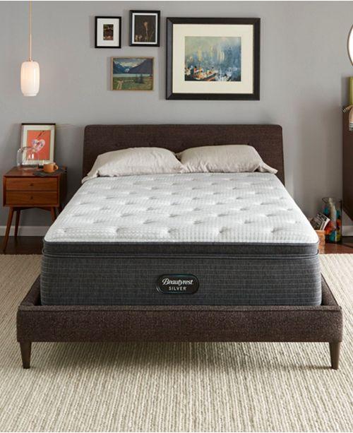 "Beautyrest BRS900-C-TSS 16.5"" Plush Pillow Top Mattress Collection, Created For Macy's"