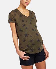 A Pea In The Pod Denim Maternity Shorts