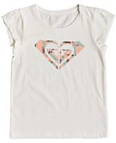 669ff6c2 Roxy Little Girls Graphic-Print Cotton T-Shirt