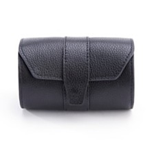 Royce New York Pebbled Leather Travel Tie Case