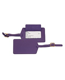 Royce New York Luggage Tag with Privacy Flap