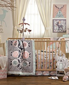Sparrow - 4 Piece Crib Bedding Set