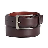 Macys deals on Perry Ellis Portfolio Mens Leather Amigo Dress Belt