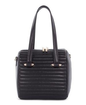 Image of Celine Dion Collection Chain Link Satchel Leather Vibrato Satchel