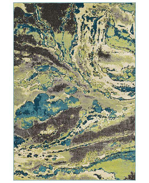 Surya Rafetus ETS-2328 Lime 2' x 3' Area Rug
