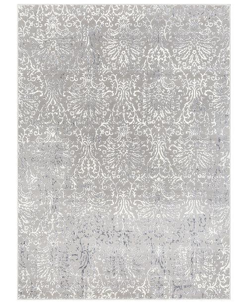 "Surya Katmandu KAT-2302 Charcoal 5'3"" x 7'3"" Area Rug"