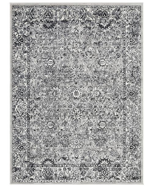"Surya Mumbai MUM-2307 Medium Gray 7'10"" x 10'3"" Area Rug"