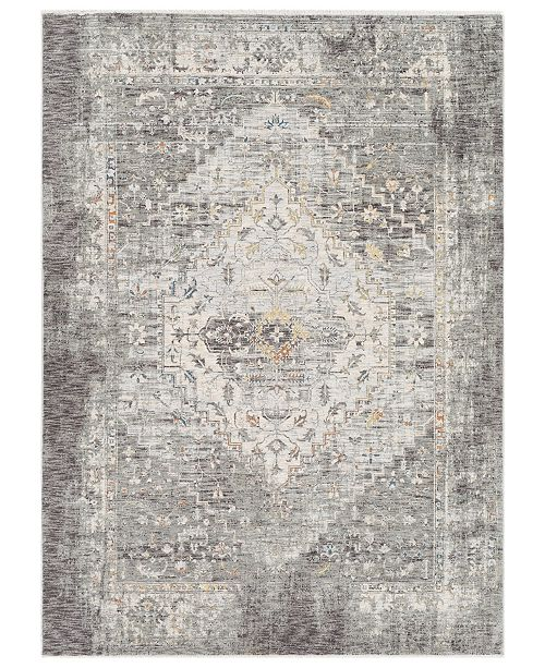 "Surya Presidential PDT-2311 Medium Gray 3'3"" x 5' Area Rug"