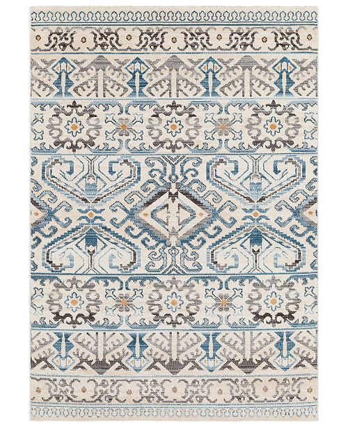 """Surya Notting Hill NHL-2308 Teal 5'3"""" x 7'6"""" Area Rug"""