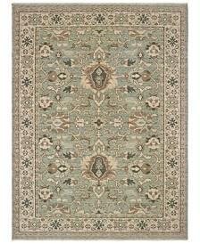 "Oriental Weavers Anatolia 1331A Blue/Brown 7'10"" x 10'10"" Area Rug"
