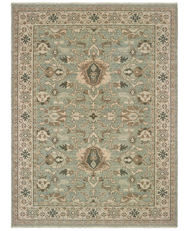 "Oriental Weavers Anatolia 1331A Blue/Brown 5'3"" x 7'6"" Area Rug"