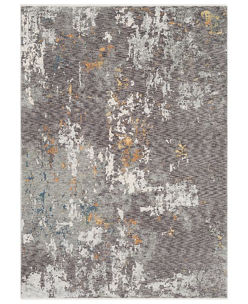"""Surya Presidential PDT-2302 Charcoal 7'10"""" x 10'3"""" Area Rug"""