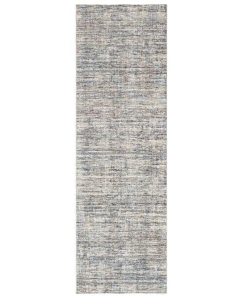 "Surya Presidential PDT-2308 Medium Gray 3'3"" x 10' Runner Area Rug"