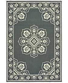 "Oriental Weavers Marina 7764 7'10"" x 10'10"" Indoor/Outdoor Area Rug"