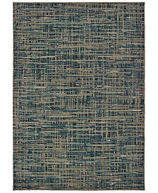 Montage 5503D Blue/Gray 2' x 3' Area Rug