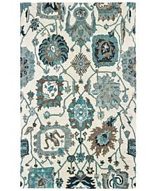 Oriental Weavers Zahra 75503 Ivory/Blue 8' x 10' Area Rug