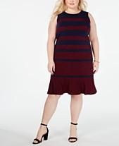 ebf5e1f5cb MICHAEL Michael Kors Plus Size Paisley Paneled Shift Dress