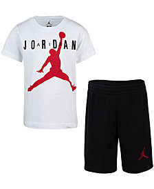 Jordan Toddler Boys 2-Pc. Cotton T-Shirt & Shorts Set