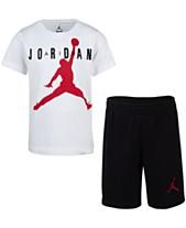 Jordan Little Boys 2-Pc. Cotton T-Shirt   Shorts Set d6cd2e1f5b3b