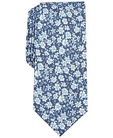 Bar III Men's Cedar Floral Skinny Tie, Created for Macy's