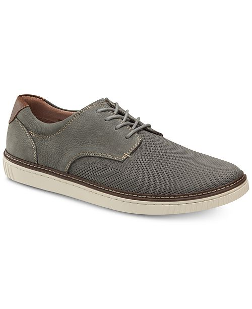 Johnston & Murphy Men's Walden Mixed-Media Oxfords