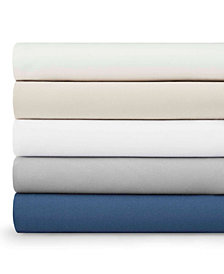 Eddie Bauer Performance Microfiber Solid Sheet Collection