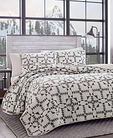 Eddie Bauer Arrowhead Charcoal Quilt Collection